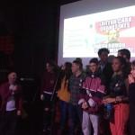 Grup de poetes participants al concurs