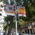 Campanya comunicació amb banderoles