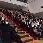 Auditori durant el debat inaugural